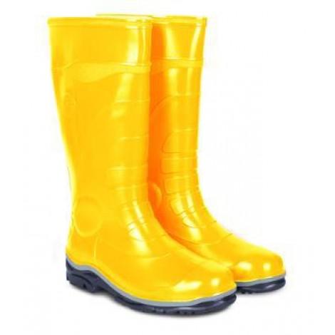 Сапоги ПВХ мужские желтые