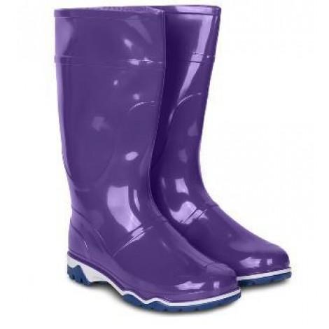 Сапоги ПВХ женские фиолетовые