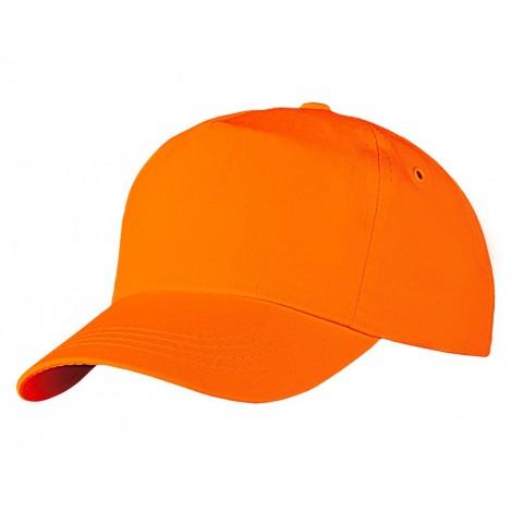 Бейсболка модель Г- 001 оранжевая