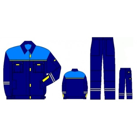 Рабочий мужской костюм  «СИРИУС- 1»