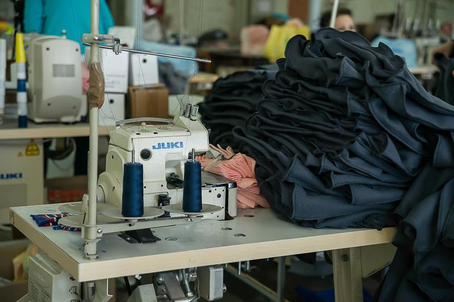 Цех по пошиву одежды